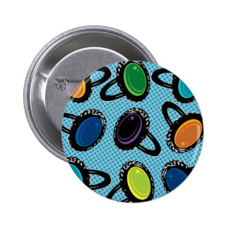 Retro Mood Rings Graphic Button