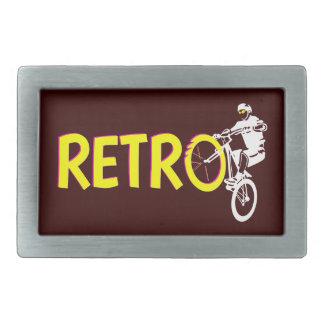 Retro Mountain Bike Belt Buckle
