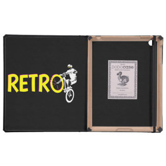 Retro Mountain Bike iPad Folio Case