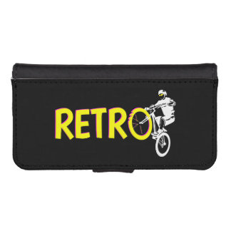 Retro Mountain Bike iPhone SE/5/5s Wallet