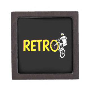 Retro Mountain bike Keepsake Box