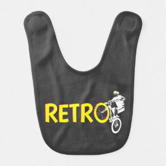 Retro mountain bike rider bib