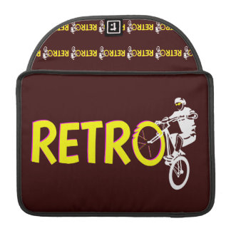 Retro Mountain Bike Sleeve For MacBooks