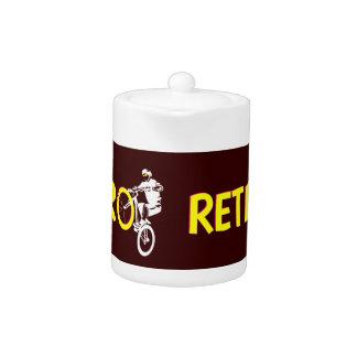 Retro Mountain Bike Teapot