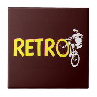 Retro Mountain Bike Tile