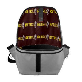 Retro Mountain Bike Wheel Stand Courier Bag