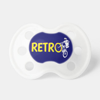 Retro Mountain Bike Wheel Stand Pacifier