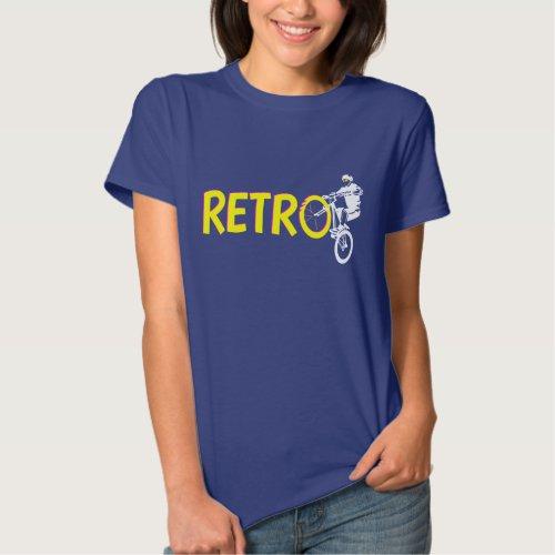 Retro Mountain Bike Wheel Stand Shirts