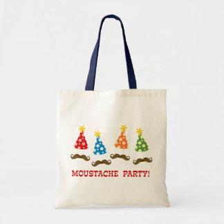 Retro Moustache Party Bag