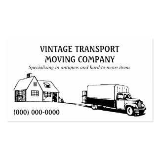 Retro Movers Business Card