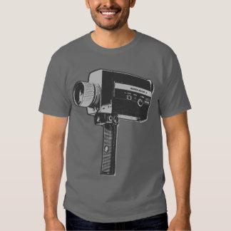 Retro Movie Camera T Shirt