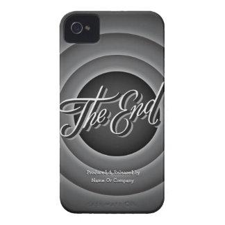 Retro Movie Ending Screen iPhone 4 Cases