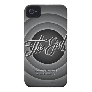 Retro Movie Ending Screen Case-Mate iPhone 4 Case