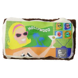 Retro Movie Star Brownies