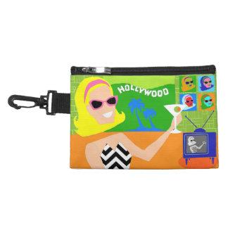 Retro Movie Star Clip On Accessory Bag
