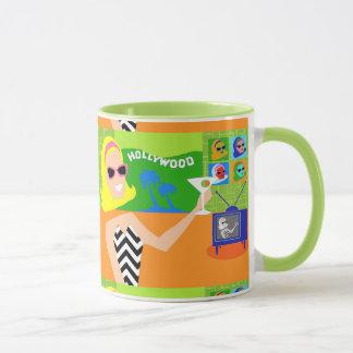 Retro Movie Star Mug