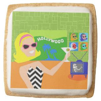 Retro Movie Star Shortbread Cookies