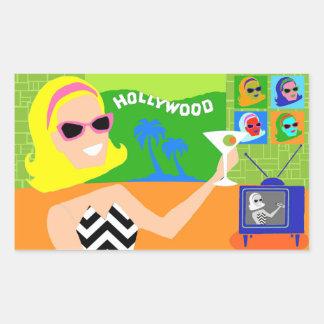 Retro Movie Star Stickers