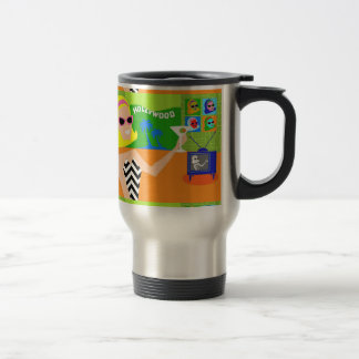 Retro Movie Star Travel Mug