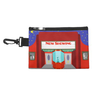 Retro Movie Theater Clip On Accessory Bag