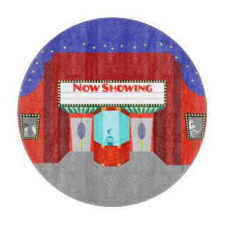 Retro Movie Theater Cutting Board