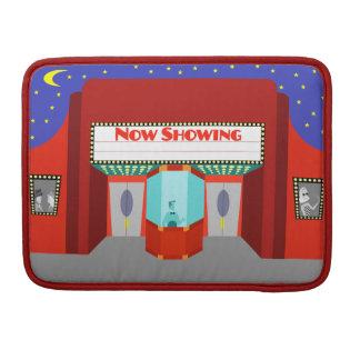 Retro Movie Theater MacBook Pro Sleeve