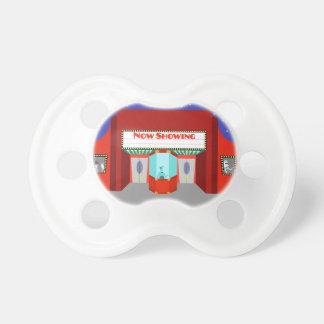 Retro Movie Theater Pacifier