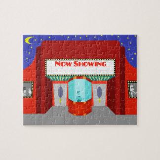 Retro Movie Theater Puzzle