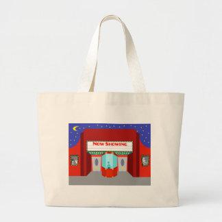Retro Movie Theater Tote Bag