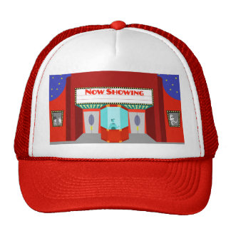 Retro Movie Theater Trucker Hat