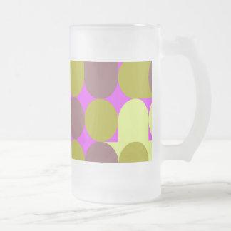 Retro mug fruit icecream