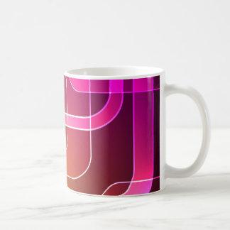 Retro mug with vibrant colours