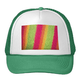 RETRO MULTI STRIPES TRUCKER HAT