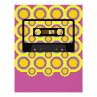 "Retro Music 8.5"" X 11"" Flyer"