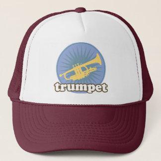 Retro Music Attitude Trumpet Gift Trucker Hat