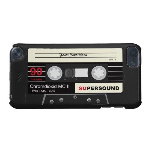 Retro Music Audio Cassette Mix Tape iPod 5 Case iPod Touch 5G Cases