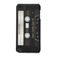 Retro Music Audio Cassette MixTape iPod touch Case