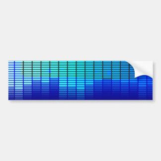 Retro Music Bumper Sticker