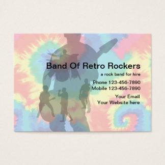 Retro Music Business Cards