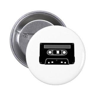 Retro Music Cassette Buttons