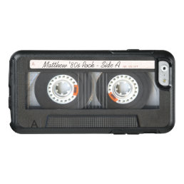 Retro Music Cassette Mix Tape Funny Look OtterBox iPhone 6/6s Case