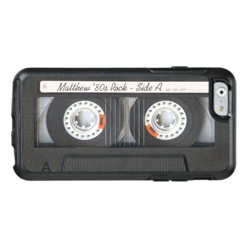 Retro Music Cassette Mix Tape Funny Look OtterBox iPhone 66s Case