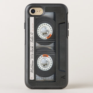 Retro Music Cassette Mix Tape Funny Look OtterBox Symmetry iPhone 7 Case