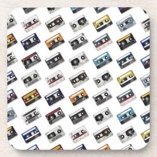 Retro Music Cassette Tapes Coaster