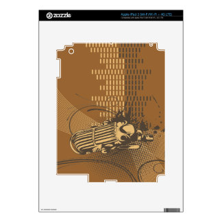Retro Music  iPad 2 / 3 Skin iPad 3 Skins