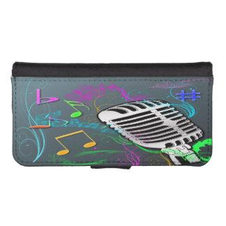 Retro Music iPhone 5/5s Wallet Case