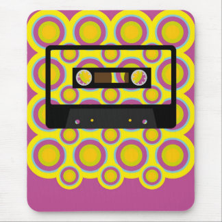 Retro Music Mouse Pad