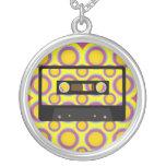 Retro Music Personalized Necklace