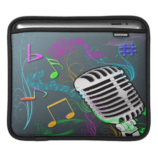 Retro Music Rickshaw iPad Sleeve