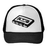 retro music t shirt trucker hat